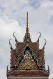 Het tempeldak Stock Afbeeldingen
