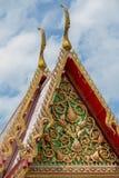 Het tempeldak Royalty-vrije Stock Foto's