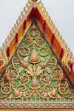 Het tempeldak Royalty-vrije Stock Afbeeldingen