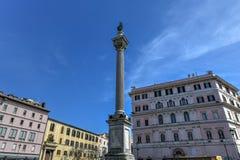 Het Tempo van Colonnadella - Rome, Italië stock afbeelding