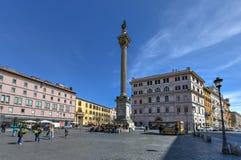 Het Tempo van Colonnadella - Rome, Italië stock afbeeldingen