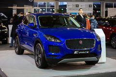 Het Tempo van Jaguar E royalty-vrije stock foto's