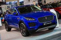 Het Tempo van Jaguar E royalty-vrije stock afbeeldingen