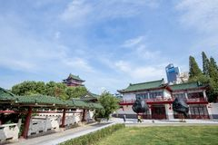 Het Tengwang-paviljoen in Nan-Tchang stock afbeelding