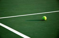 Het Tennis van de middag Stock Fotografie