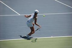Het tennis van de vrouw Royalty-vrije Stock Afbeelding