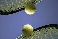 Het tennis van het spel Royalty-vrije Stock Fotografie