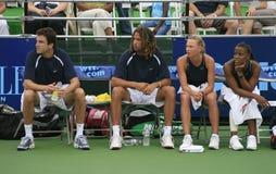 Het Tennis van het Team van de wereld royalty-vrije stock foto's