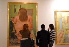Het Tentoongestelde voorwerp van Botero Royalty-vrije Stock Afbeelding