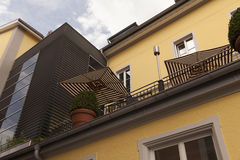 Het terras Stock Foto