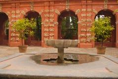 Het terras van Alcazar Stock Foto