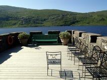 Het terras van de zomer Royalty-vrije Stock Afbeelding