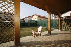 Het terras van de zon Stock Afbeeldingen