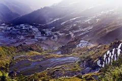 Het terras van Hani, Yunnan, China010 Stock Foto's