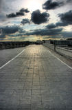 Het terras van het dak in Parijs Royalty-vrije Stock Foto's
