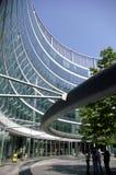 Het terras van het glas Stock Afbeeldingen