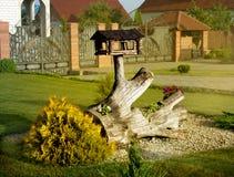 Het terras van het landschapsontwerp Stock Afbeelding