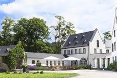 Het Terras van Nice in een Klooster, Duitsland Royalty-vrije Stock Fotografie