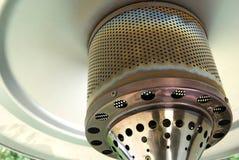Het terrasverwarmer van het gas Stock Afbeeldingen