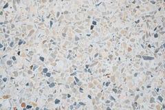 Het terrazzo poetste van de steenvloer en muur patroon en het marmer van de kleurenoppervlakte en granietsteen, materiaal voor de royalty-vrije stock afbeeldingen