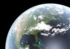Het teruggeven van de hoge Resolutie van aarde Stock Foto's