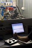 Het testen van de motor Royalty-vrije Stock Foto's