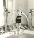 Het testen van het Water royalty-vrije stock fotografie