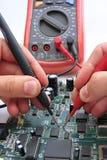 Het testen van PCB Stock Fotografie