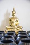 Het Thaise beeld van Boedha Stock Afbeelding