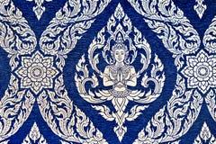 Het Thaise behang van het stijlpatroon Stock Fotografie