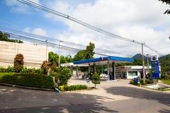 Het Thaise benzinestation van het Olifantseiland stock afbeeldingen
