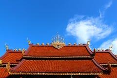 Het Thaise dak van de Tempel Royalty-vrije Stock Fotografie