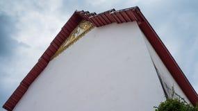 Het Thaise dak van de Tempel Stock Foto's