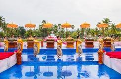 Het Thaise dansen Stock Afbeelding