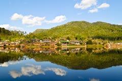 Het Thaise Dorp van Rak stock afbeelding