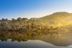 Het Thaise Dorp van verbodsrak, een Chinese nederzetting Royalty-vrije Stock Afbeeldingen