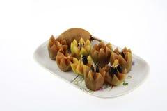 het Thaise fruitsapodilla gemakkelijk hunkeren naar Royalty-vrije Stock Foto