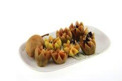 het Thaise fruitsapodilla gemakkelijk hunkeren naar Stock Afbeelding