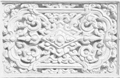 Het Thaise gebruik van de patroon fijne kunst als achtergrond Royalty-vrije Stock Afbeelding