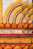 Het Thaise gipspleisterwerk Stock Afbeelding