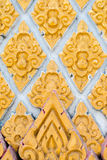 Het Thaise goud van het kunstkader Stock Afbeelding