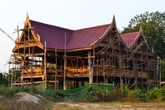 Het Thaise Huis van de Stijl Royalty-vrije Stock Foto