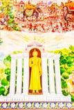 Het Thaise kunst schilderen stock foto