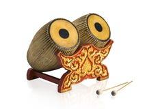 Het Thaise oude overleg trommelt muzikaal instrument Royalty-vrije Stock Afbeelding