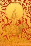 Het Thaise schilderen Stock Afbeeldingen