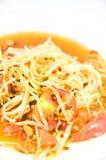 Het Thaise voedsel van Somtum Stock Fotografie