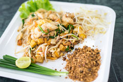 Het Thaise voedsel van stijlnoedels Royalty-vrije Stock Fotografie