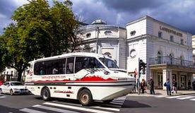 Het Theater en hotel Bristol van de Staat van Salzburg Ausria Stock Foto
