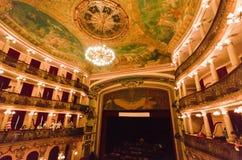 Het Theater Manaus Brazilië van Amazonas royalty-vrije stock afbeeldingen