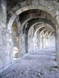 Het theater van Aspendos stock foto